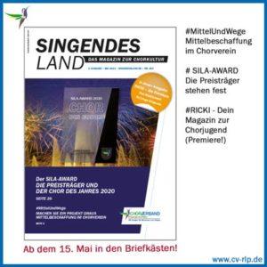 Titelbildvorschau Singendes Land Ausgabe Mai 2021
